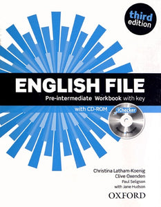 English File Pre-interm 3e Workbook with key