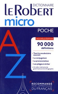 Dictionnaire Micro  Robert