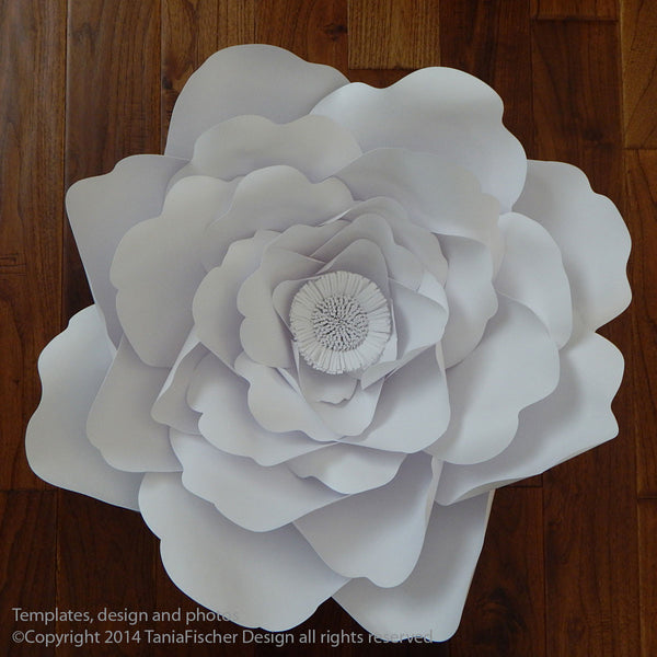 """Signature"" Paper Flowers 24"" diameter"