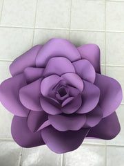 Template Paper Flower No2 For Silhouette Cameo or Cricut
