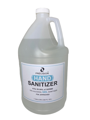 Hand Sanitizer 1 gallon (128 oz)  -70% Alcohol Gel Antimicrobrial Sanitizer - FDA approved-Kills 99.99% germs
