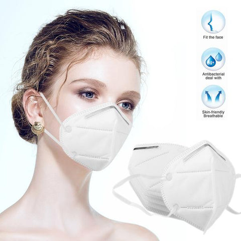 KN95 Masks -3 pk -Comfortable -Safety Masks Dust Face Mask Virus Mesh Mask with Ear Loop - Korea Made