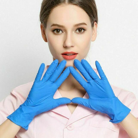 Nitrile Gloves 200 Box - One Size Fits all