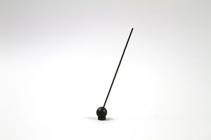 Sumitani Hakuhodo Brass Ball Incense Holder Black