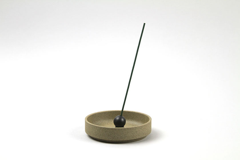 Brass Ball Incense Holder Black - Sumitani Hakuhodo