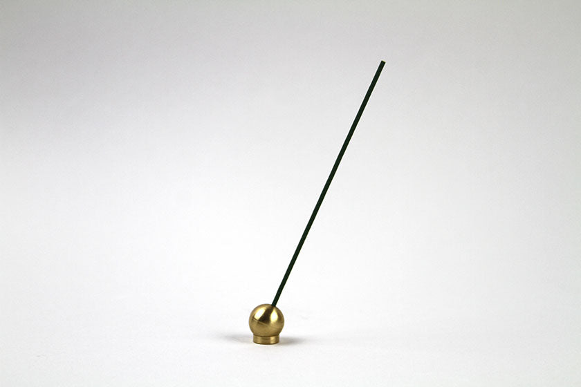 Brass Ball Incense Holder Gold