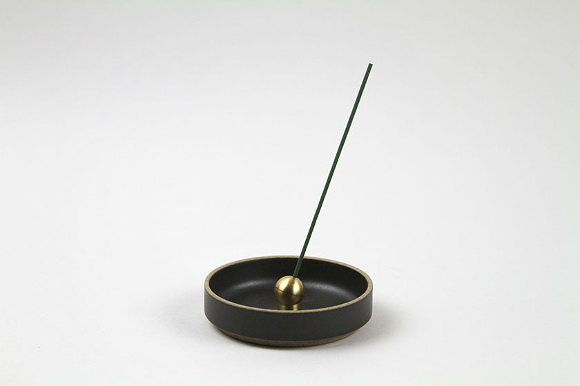 Sumitani Hakuhodo Brass Ball Incense Holder Gold