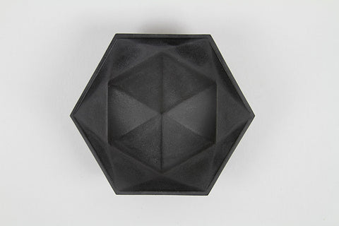 Cast Iron Hexagonal Tray by Tadahiro Baba