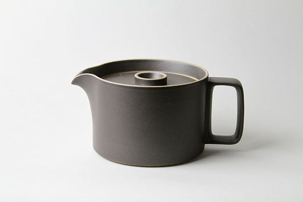 Coffee Pot by Hasami Porcelain Black