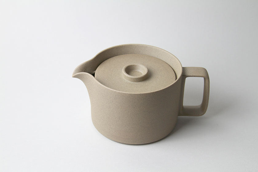 Coffee Pot by Hasami Porcelain Natural