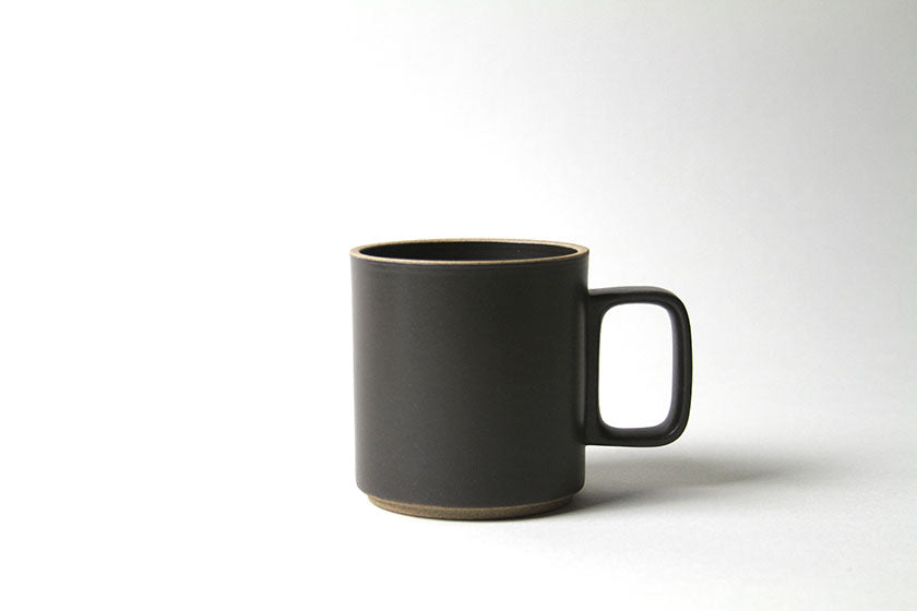 Hasami Porcelain Coffee / Tea Cup 13 oz. Black