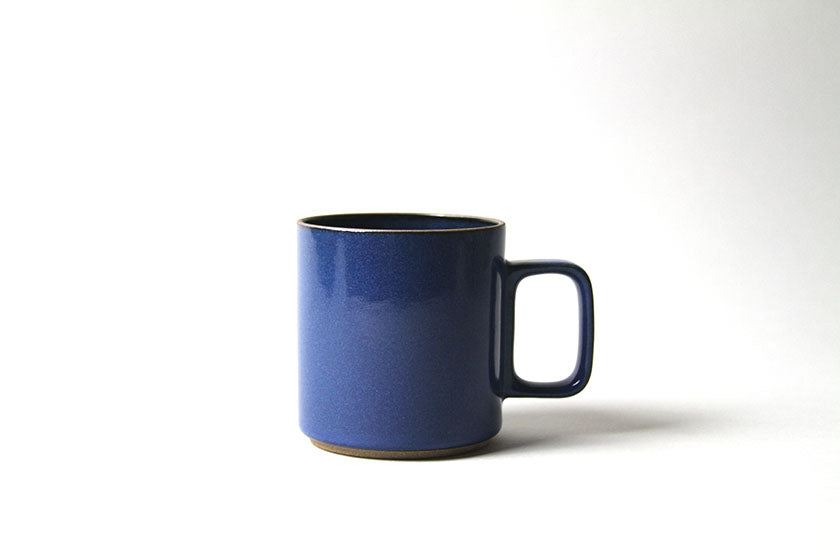Hasami Porcelain Coffee / Tea Cup 13 oz. Blue