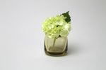 Flower Bud Vase Square - Tan
