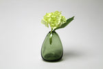 Flower Bud Vase Vertical - Forest Green