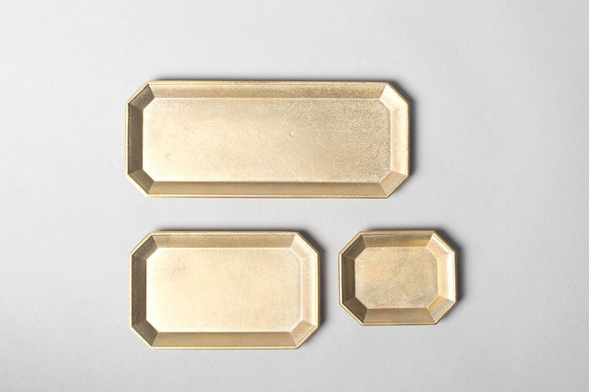 Brass Stationery Tray - Futagami