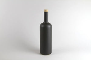 Hasami Porcelain Bottle Black