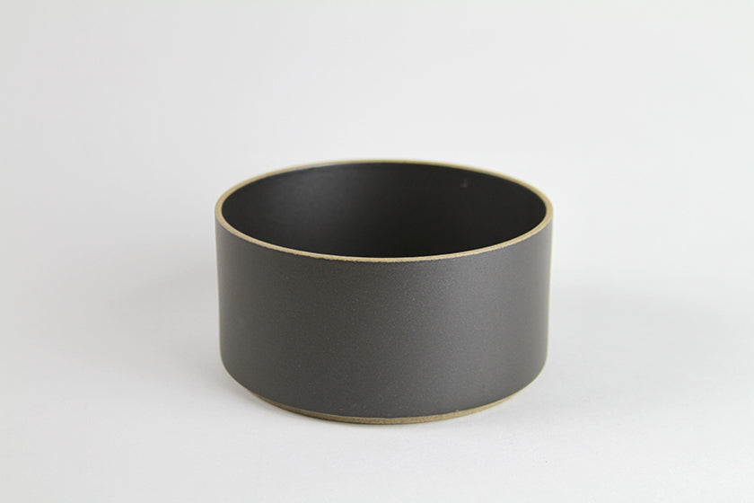 Hasami Porcelain Bowl Tall Black
