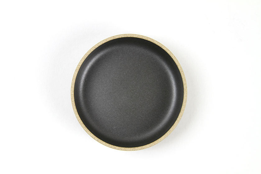 Hasami Porcelain Plate Small Black