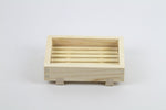 Hinoki Cypress Wood Soap Dish