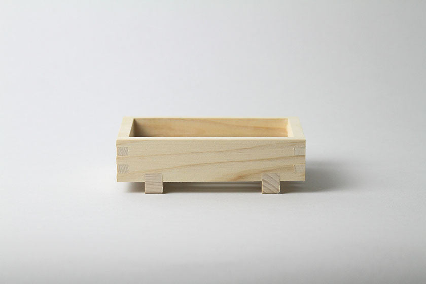 Hinoki Cypress Wood Soap Dish - Japan
