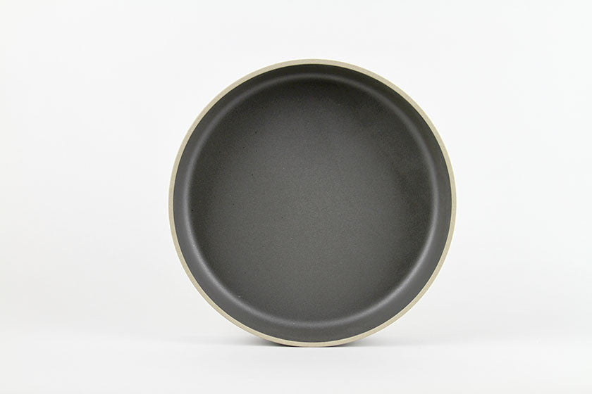 Hasami Porcelain Serving Bowl Large Black
