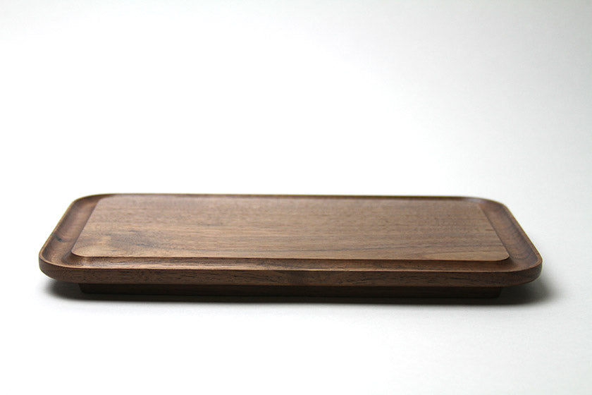 Takahashi Kougei KAKUDO Serving Board Medium - Walnut