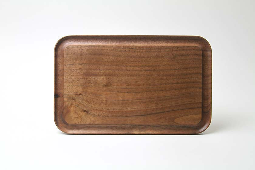 Takahashi Kougei KAKUDO Serving Board Large - Walnut