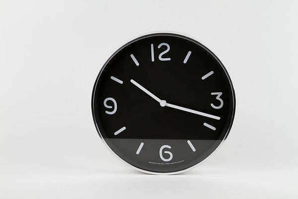 Lemnos MONO Wall Clock Black