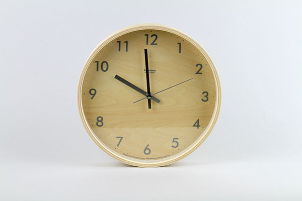 Lemnos Plywood S Wall Clock