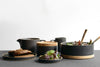 Hasami Porcelain Bowl Medium Black Hasami Porcelain - Monolier