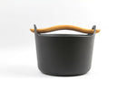 Sarpaneva 3-Quart Cast Iron Casserole with Wooden Handle - iittala