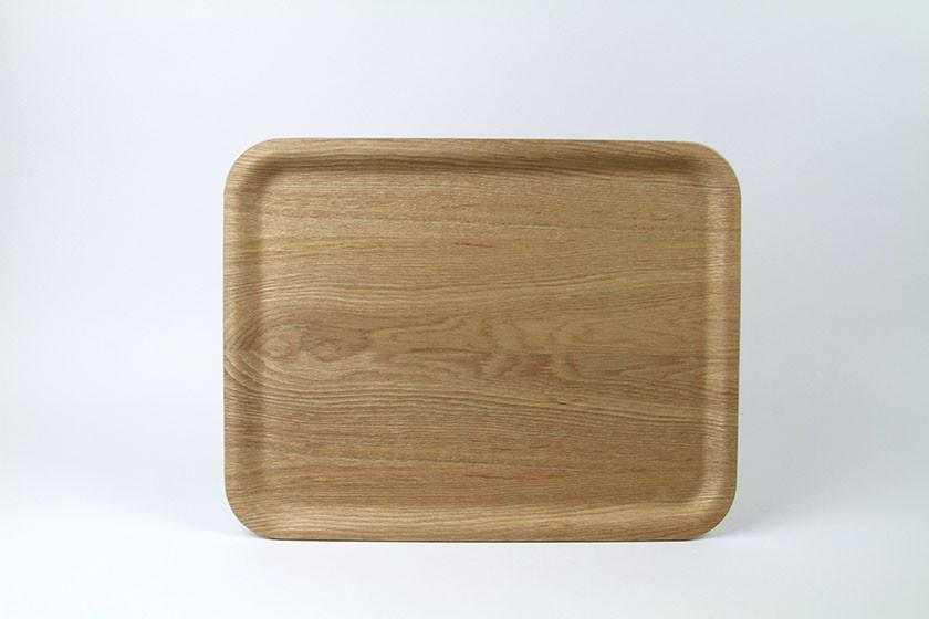 Kinto Nonslip Rectangular Wood Tray