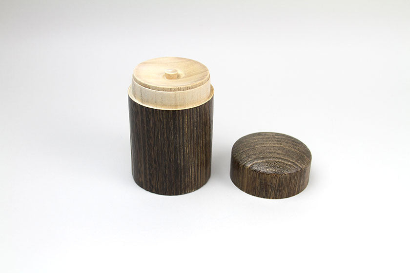 Japan Kiri Wood Loose Tea Leaf Container
