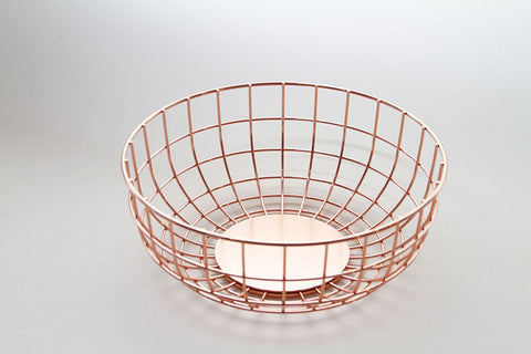 MENU Copper Wire Fruit Bowl Menu - Monolier