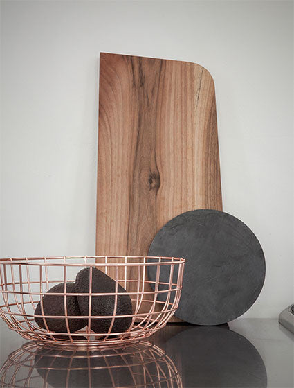 MENU Copper Wire Fruit Bowl - Monolier