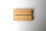 Red Pine Wooden Soap Dish