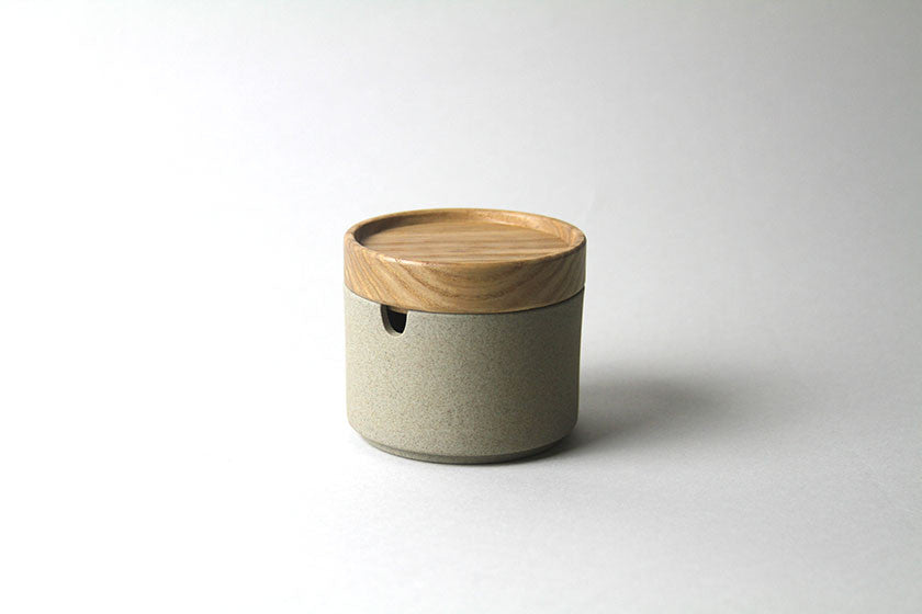 Sugar Pot by Hasami Porcelain Natural - Hasami Porcelain