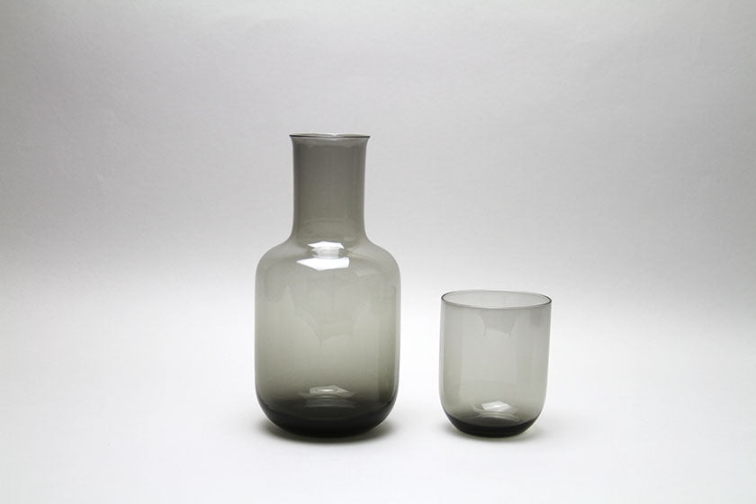 Toyo-Sasaki Glass - Night Carafe in Grey