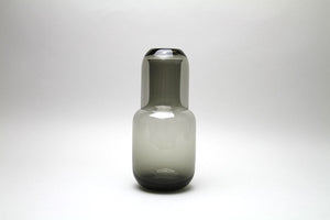 Toyo-Sasaki Glass Night Carafe Grey