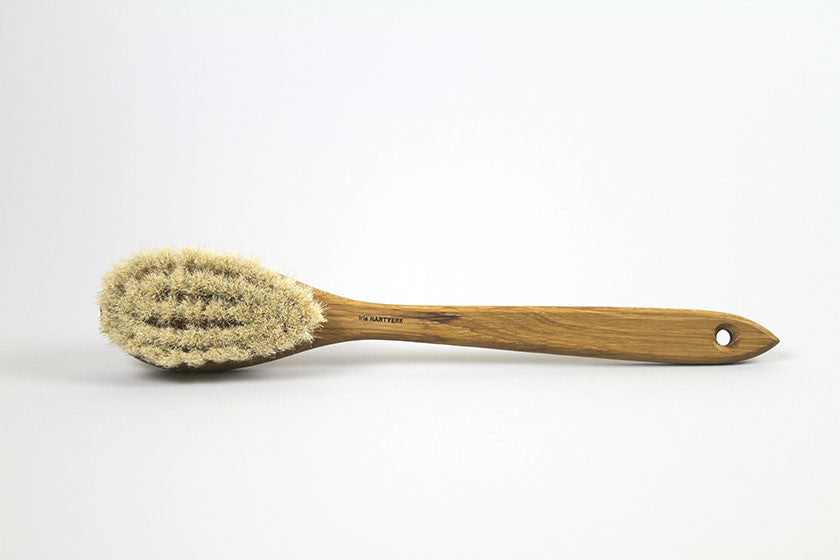 Iris Hantverk Natural Bristle Bath Brush With Handle