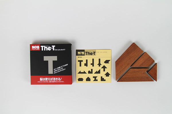 NOB Wooden Puzzle The-T