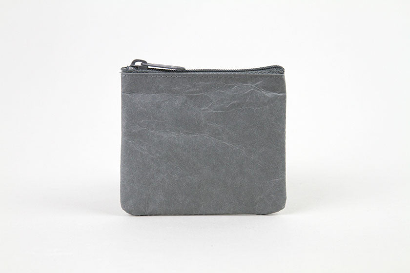 SIWA Paper Coin Case Grey