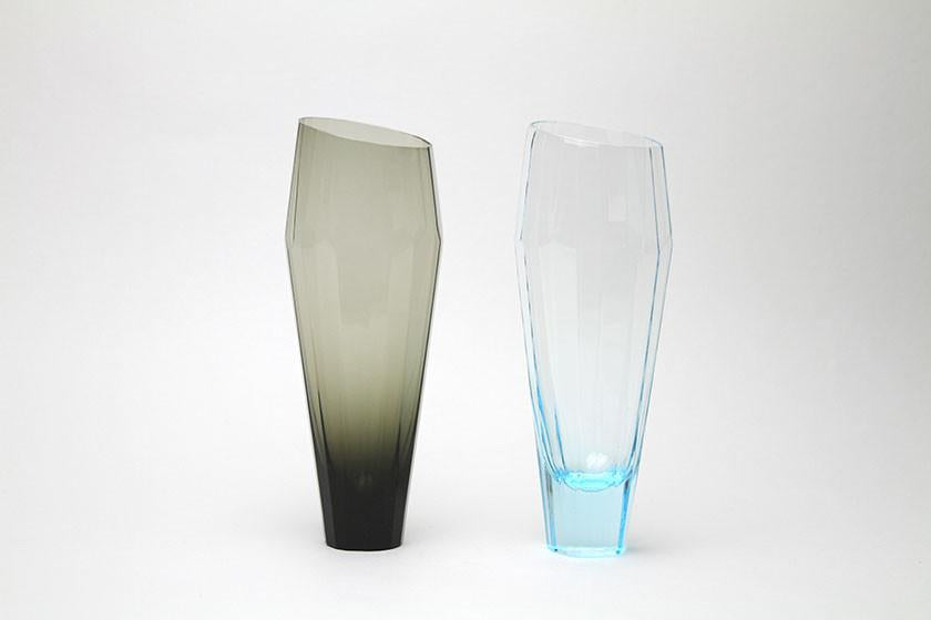 Sugahara Crystal Edge Glass (Smoke)