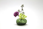 Flower Bud Vase Riverstone - Forest Green
