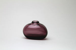 Sugahara Flower Bud Vase Riverstone - Wine Red - Sugahara