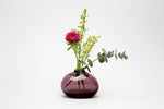 Flower Bud Vase Riverstone - Wine Red
