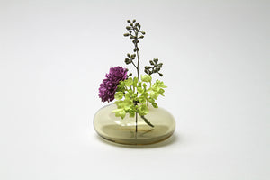 Sugahara Flower Bud Vase Round - Tan