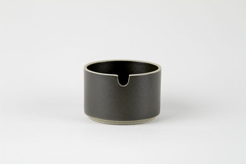 Sugar Pot (Black) by Hasami Porcelain - Hasami Porcelain