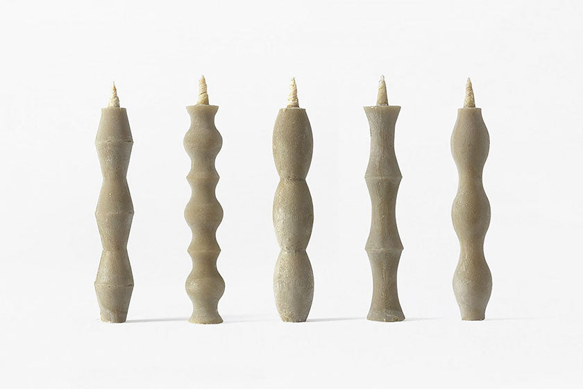 Japanese Candle NANAO (Set of 5)