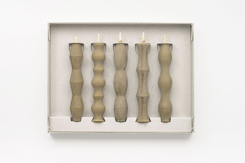 Takazawa Japanese Candle NANAO (Set of 5)